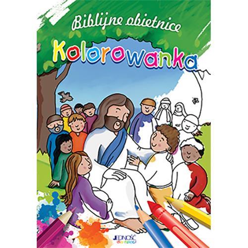Biblijne obietnice - kolorowanka