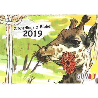 Kalendarz kolorowanka - Z kredką i z Biblią