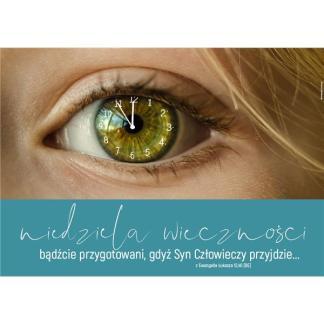 Plakat - niedziela wieczności - oko