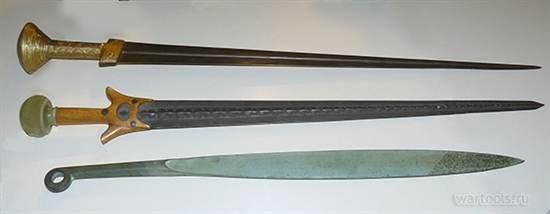 Σπαθιά που χρονολογούνται