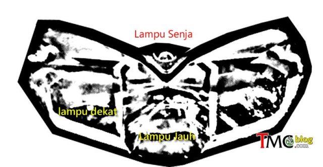 headlamp yamaha aerox