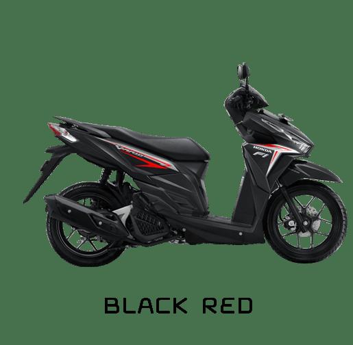 vario 125 hitam merah