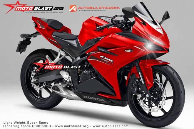 cbr250rr merah