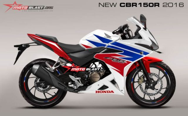 cbr facelift 150cc