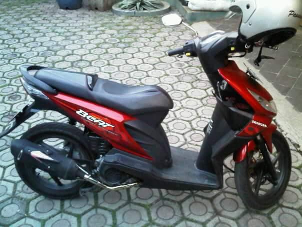 Honda Beat 2009 modif racing ala blogger papan atas Indonesia