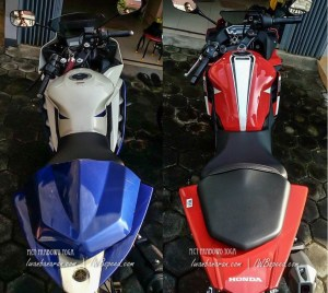 komparasi body cbr vs r15