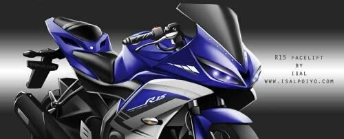 Ekspektasi R15 facelift...