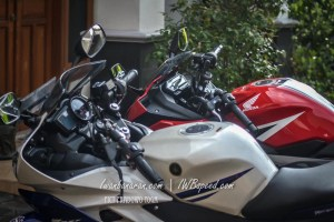 tanki dan speedo r15 vs cbr150