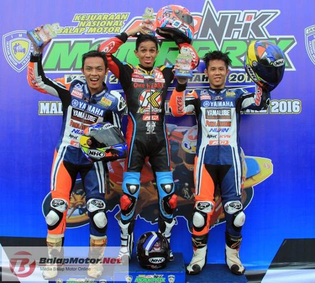 Podium Motoprix MP1 Malang 2016