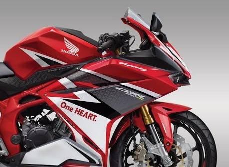 Honda CBR250RR Racing red 2016 warungasep