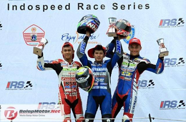 podium kelas 150cc