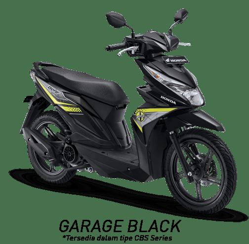 warungasep all new honda beat hitam kuning garage black