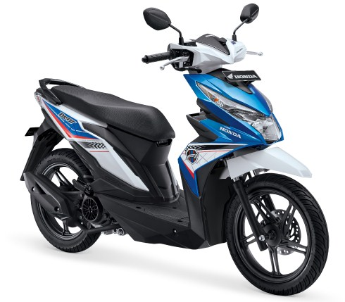warungasep all new honda beat techno blue 2016