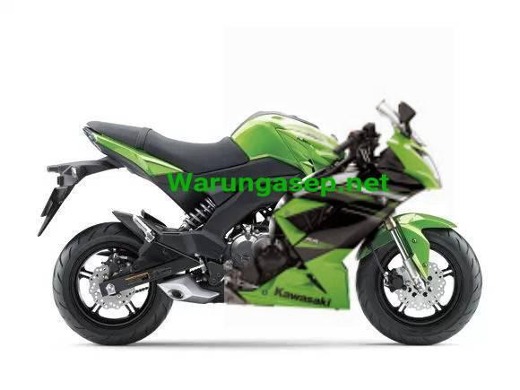 Illustrasi Kawasaki Ninja 125 Pro hehe