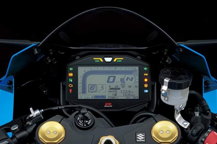 Speedo GSX-R1000