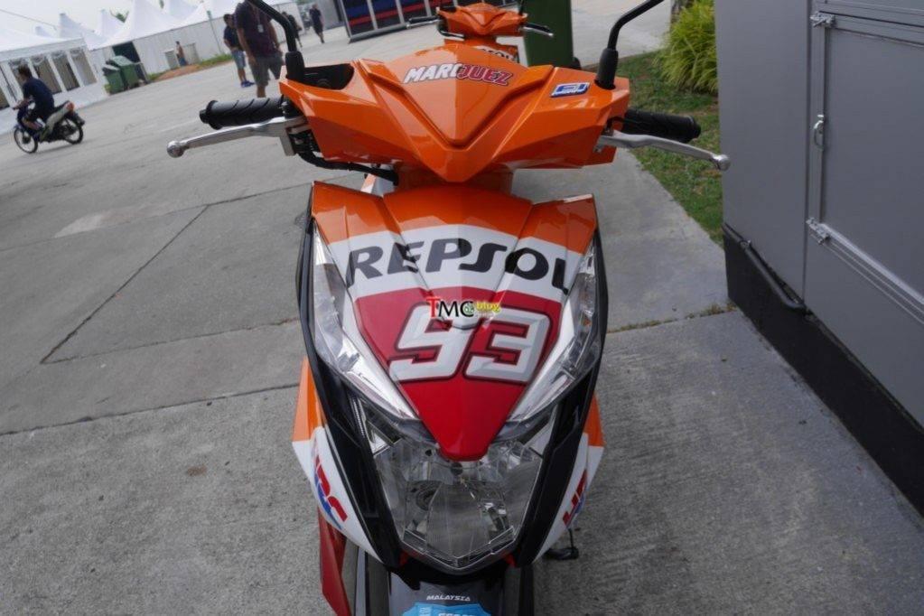 Honda Beat Stripping Repsol Asal Malaysia Semoga Menginspirasi