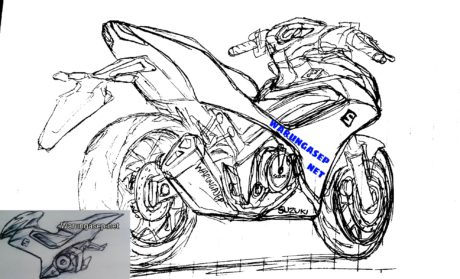 Illustrasi Suzuki Shogun 150cc