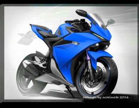 redesign Yamaha YZF-R25 concept oleh aroelmoto