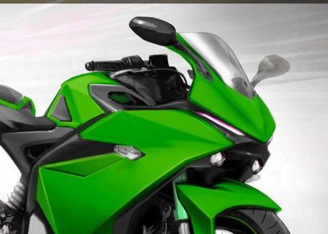Konsep headlight YZF-R25 facelift karya aroel moto