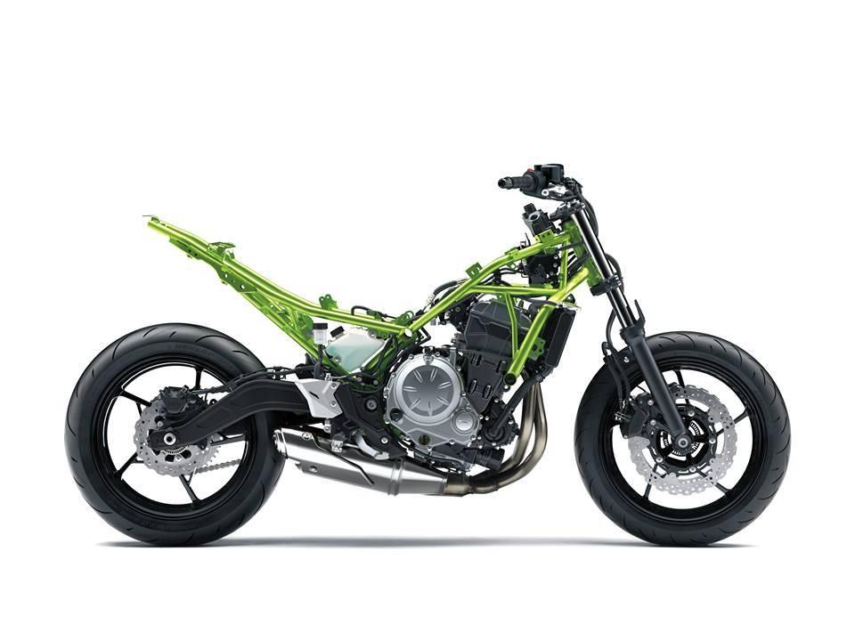 Rangka Kawasaki Z650