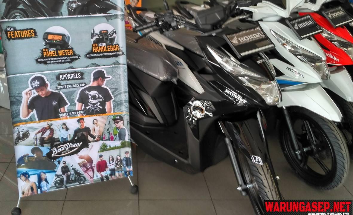 Harga Dan Cicilan Honda Beat Street 2017 Di Tasikmalaya Harganya Rp