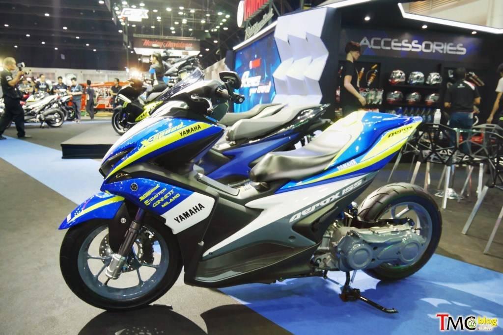 Yamaha Aerox Bergaya Low Rider