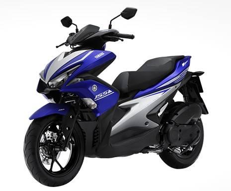 Yamaha Aerox di Vietnam tipe premium