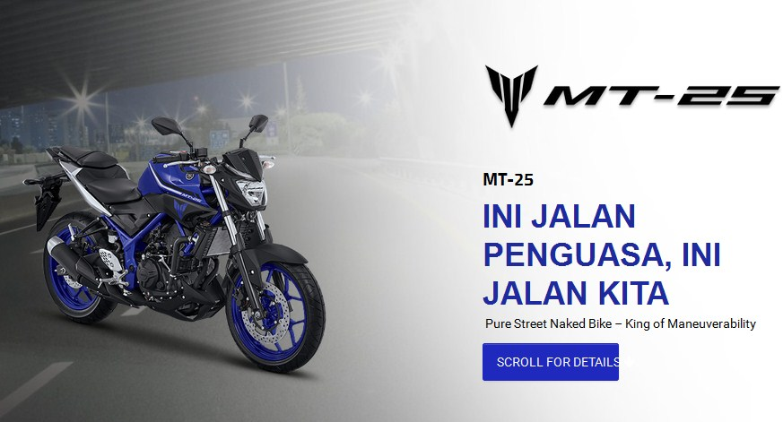 harga yamaha mt 2017 indonesia