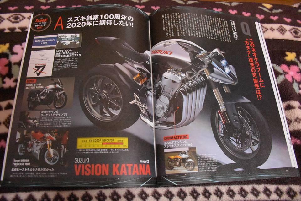 young machine 2017 suzuki vision katana