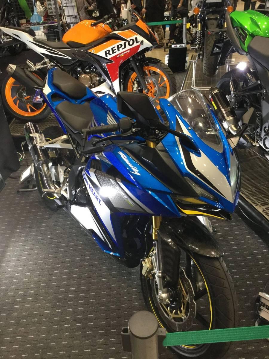 Ada Honda CBR250RR Warna Biru?