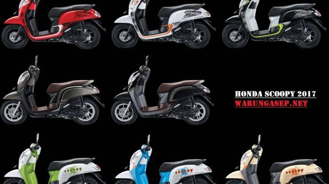 Foto Studio 8 Pilihan Warna Honda Scoopy 2017 Varian Sporty Stylish