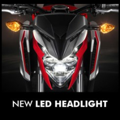 all new cb650f 2017 headlamp