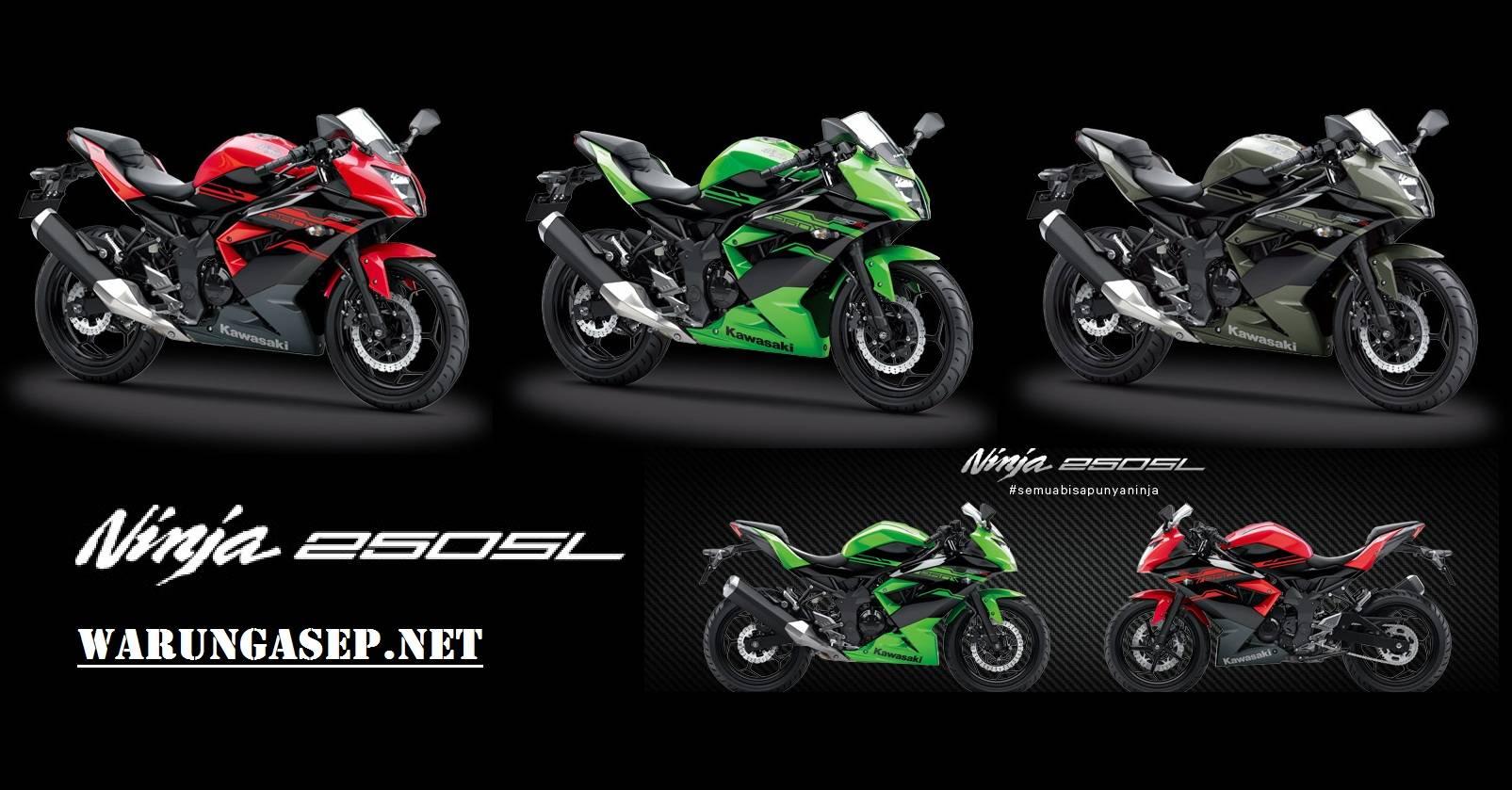 Ini 3 Warna Baru Kawasaki Ninja 250sl 2017 Ninja Termurah Di Dunia