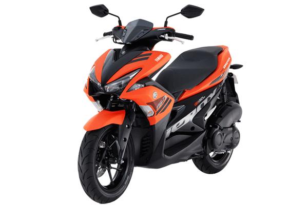 "Di Filipina, Yamaha Aerox Namanya Jadi ""Mio"", Ada Warna Orange... Harganya Rp. 26jutaan"