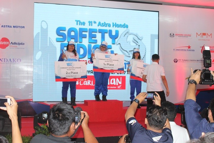 pemenang safety riding 2017