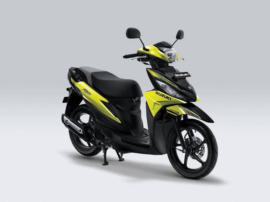 New Suzuki Address 2017 Playful kuning hitam