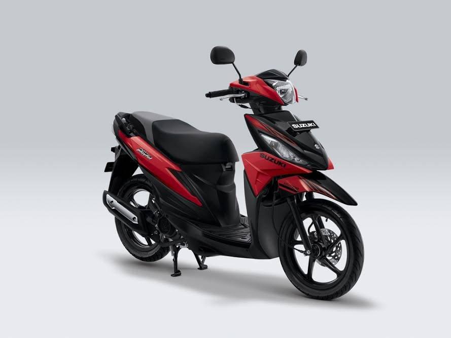 New Suzuki Address 2017 Playful merah