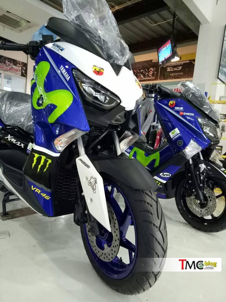 Yamaha XMax Movistar Motogp 1