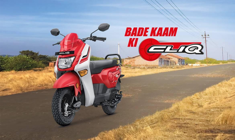 Honda Cliq 110cc 2017, Skutik Unic Murah Rp. 8jutaan di India