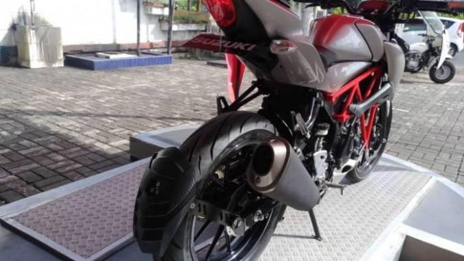 Modifikasi Suzuki Gsx S150 Pakai Rangka Teralis Merah Jadi Pengen
