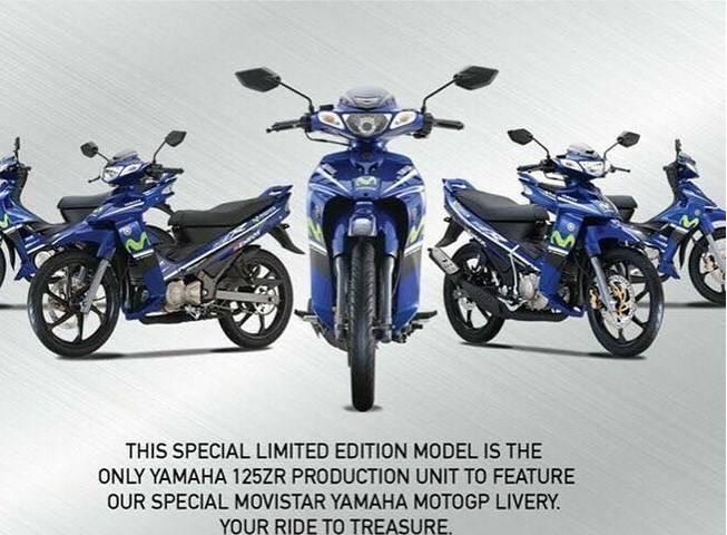 Yamaha 125ZR Movistar 2017 Malaysia, Sang Legenda Hidup Motor 2 Tak Limited Edition Berlivery Motogp