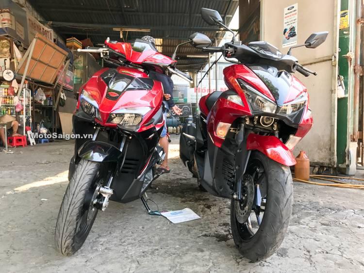 Komparasi Foto Honda Airblade 125 Vs Yamaha Nvx Aka Aerox 125 Di