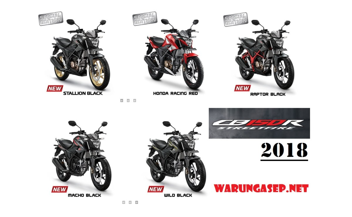 All New Honda CB150R 2018 Warna Baru Stallion Black Dengan Velg Emas, Harga Rp 27jutaan