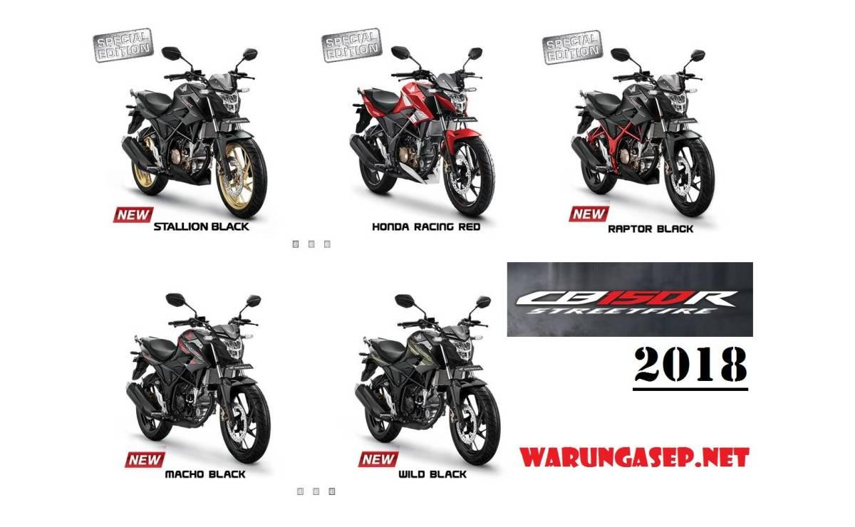 All New Honda CB150R 2018 Warna Baru Stallion Black Dengan Velg Emas, Harga Rp 27jutaan