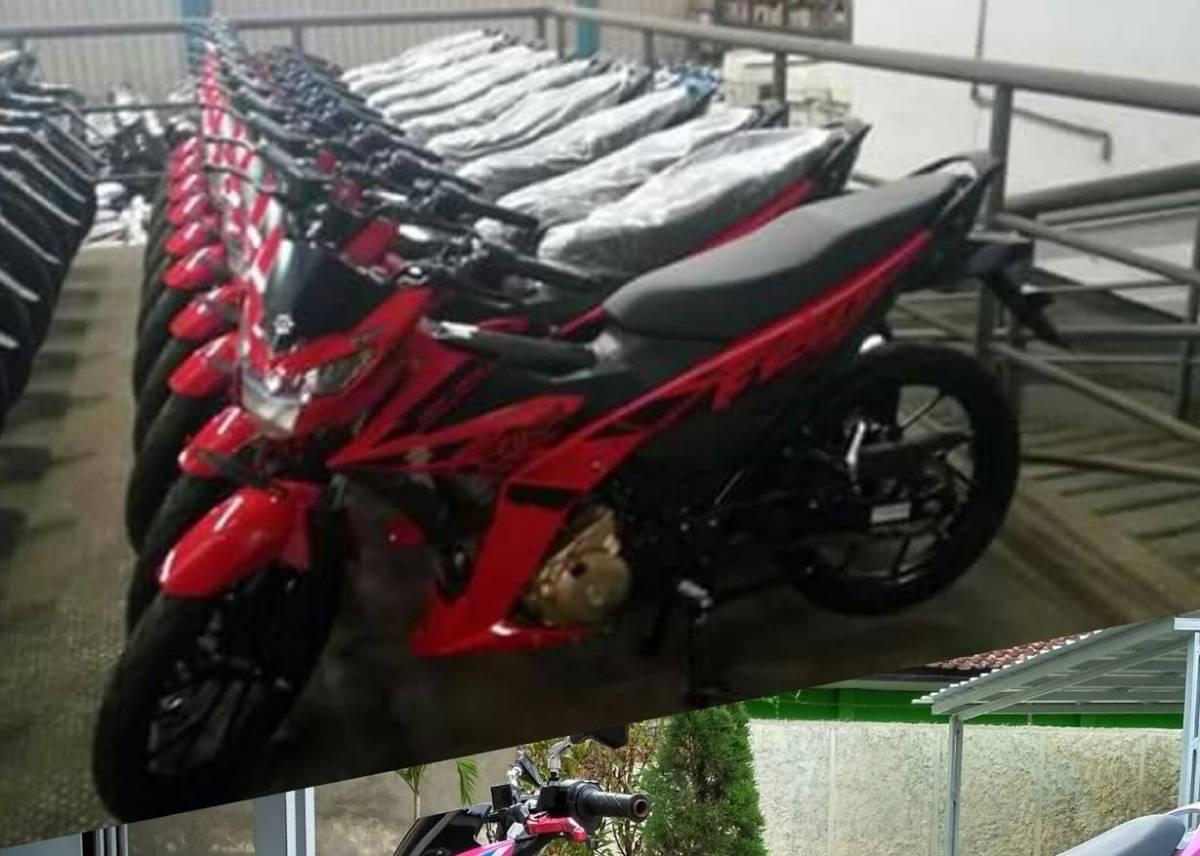 Spyshots Satria FU Injeksi Facelift Warna Merah, Inikah Yang Akan Dirilis Suzuki di Burtor?