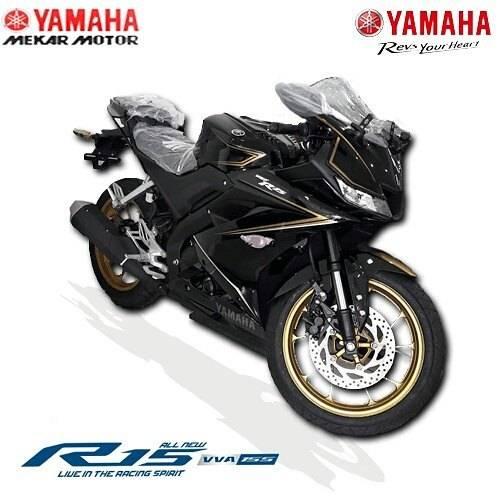 All New Yamaha R15 Velg Emas Semakin Elegan Harga Rp 37 5jutaan