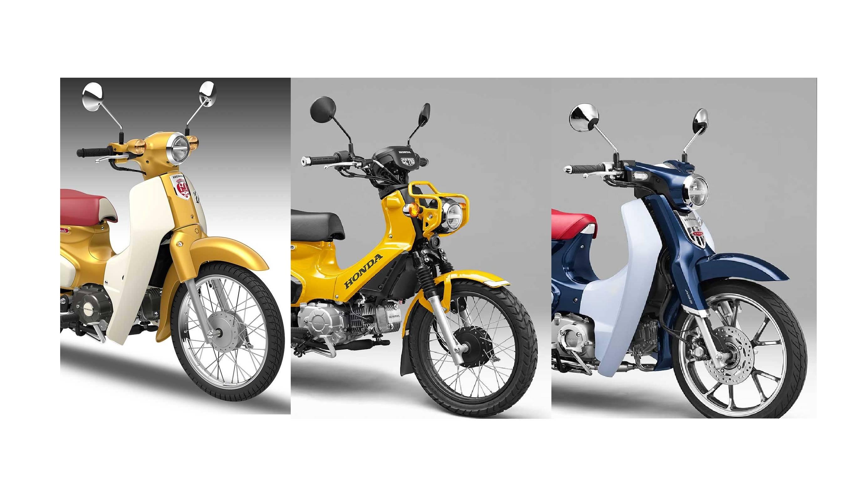 Galeri Foto Honda Super Cub 110 125 Dan Cross Cub Concept Edisi