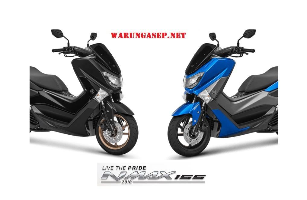 4 Warna Yamaha Nmax 2018 Terbaru Harga Termurah Rp 26,3 juta dan Versi ABS Rp. 30jutaan
