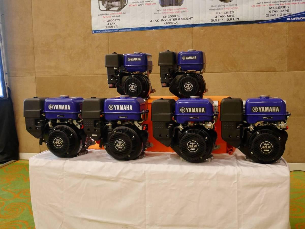 Yamaha Rilis Mesin MX-Series, Mesin Serba Guna Dari Mulai 175cc hingga 400cc