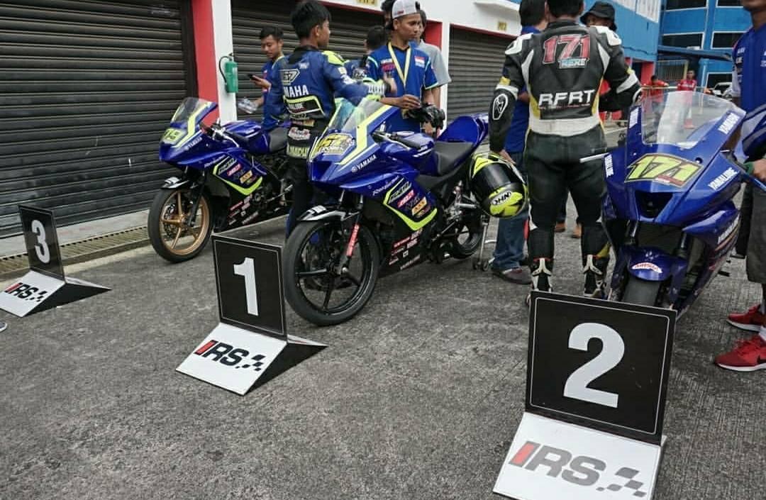 Yamaha R15 Kuasai Podium IRS 150cc 2018, CBR150R ke-7, GSX-R150 Finish ke-17